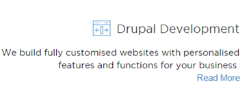 Drupal Development Icon