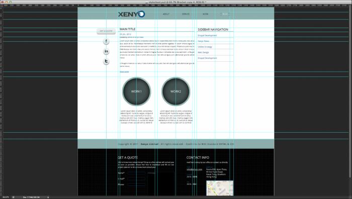Grid Website Design