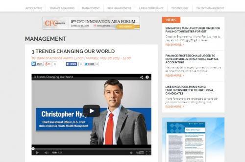 CFOi Video Page