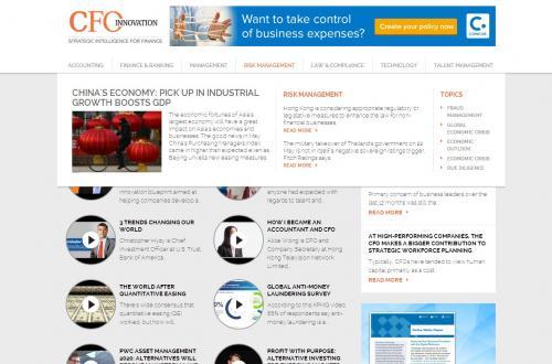 CFOi Video Listing Page