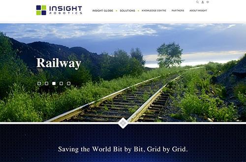 Insight Robotics Website Screenshot 1